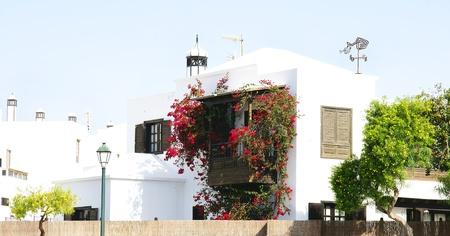 Building in Lanzarote, Canary Islands Stock Photo - 21844070