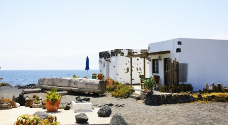 House in El Golfo, Lanzarote, Canary Islands Stock Photo - 21844072