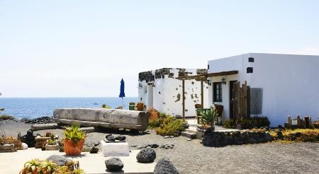 House in El Golfo, Lanzarote, Canary Islands Stock Photo - 21844072