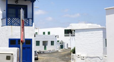 General view of El Golfo, Lanzarote, Canary Islands Stock Photo - 21844074