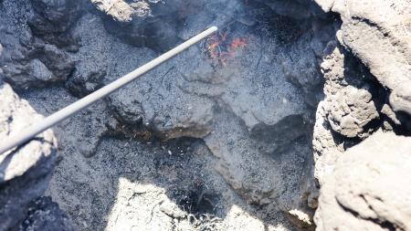 timanfaya: Fuego en las entra�as de la tierra, Parque Nacional de Timanfaya en Lanzarote, Islas Canarias