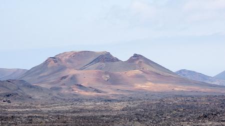 timanfaya: paisaje volc�nico del Parque Nacional de Timanfaya, Lanzarote, Islas Canarias