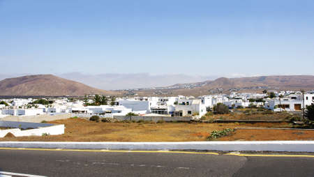 urbanization: Urbanization in Lanzarote, Canary Islands
