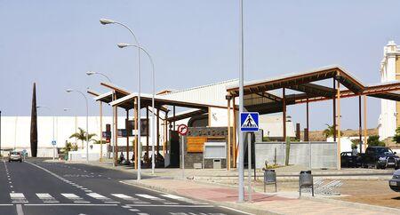 bus station: Bus station in Arrecife, Lanzarote, Canary Islands