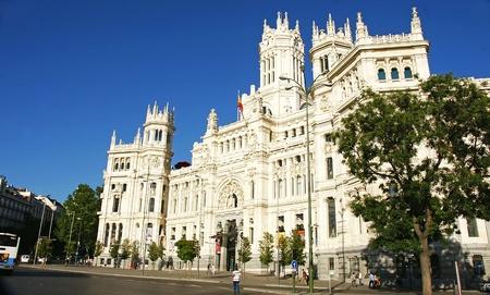 edificación: Edificio de Correos de Madrid