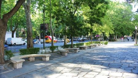 paseo: Paseo del Prado in Madrid