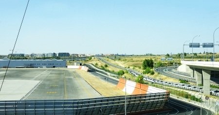runways: Tracks Madrid Barajas Airport Terminal 4