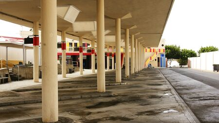 bus station: Bus station of Arrecife, Lanzarote, Canary Islands