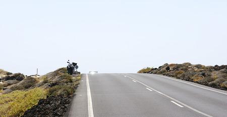 canarias: Road in Lanzarote, Islas Canarias
