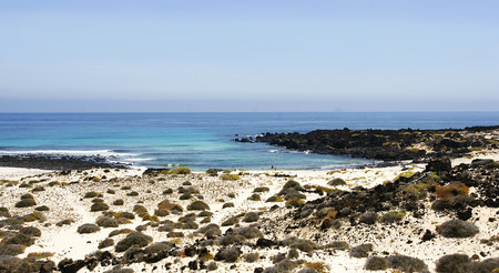 mujeres: Beach in Punta Mujeres, Lanzarote, Canary Islands