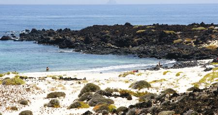 mujeres: Beach in Punta Mujeres, Lanzarote, Canary Islands