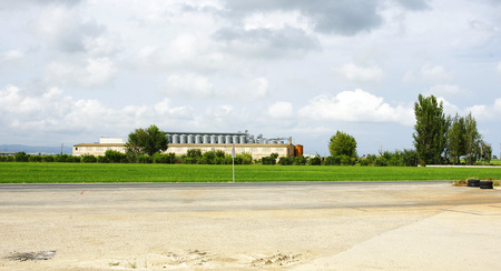 ebro: piantagioni di riso del Delta del Ebro, Tarragona Archivio Fotografico