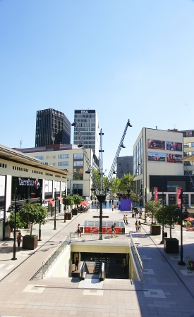 Shopping Center in Las Glorias in Barcelona