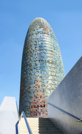 singular architecture: Torre Agbar, Barcellona