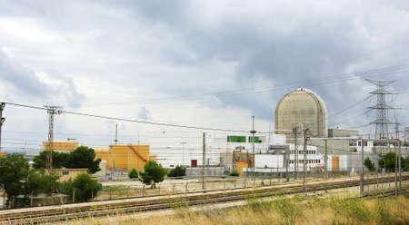 Nuclear power plant, Tarragona photo