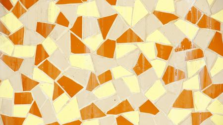 trencadis: Pared o trencad�s de cer�mica rotas de fondo y texturas Foto de archivo