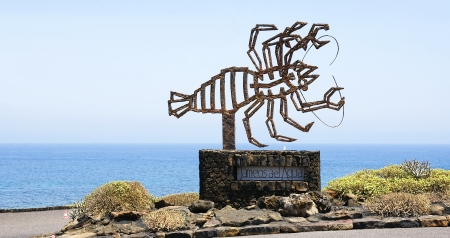 lanzarote: Around Jameos del agua in Lanzarote, Canary Islands Editorial