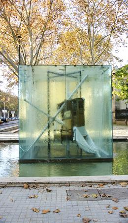 picasso: Sculpture tribute to Picasso, Barcelona