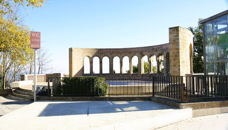 ecclesiastical: Gazebo in the mountain of Montserrat, Barcelona