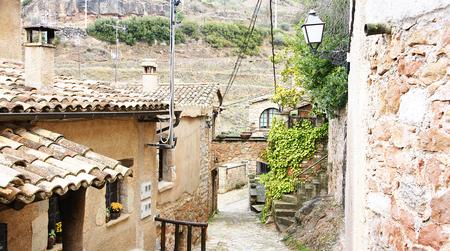 medioevo: Edifici, strade e vicoli del Medioevo in Mura, Barcelona
