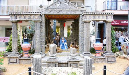 Nativity Scene in Terrassa, Barcelona