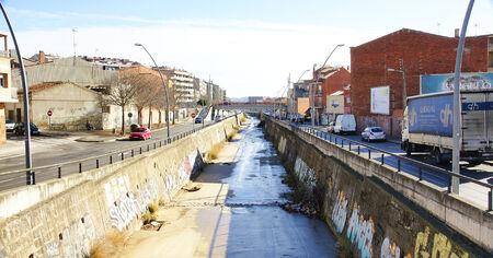 eau de pluie: canaliser l'eau de pluie dans Tarrasa, Barcelone