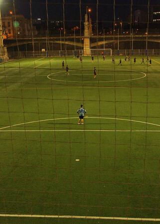 edificación: Juego Night Football