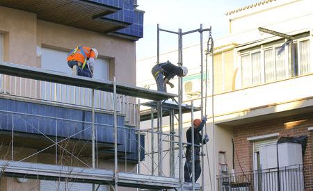 Rehabilitation of a facade in Barcelona