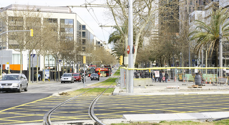 anti noise: Street Diagonal Mar, Barcelona Editorial