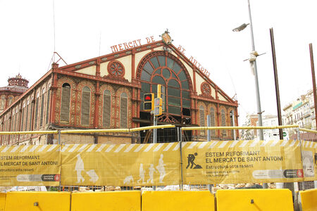 Reconstruction of the Mercat de Sant Antoni, Barcelona