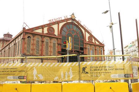 Reconstruction of the Mercat de Sant Antoni, Barcelona