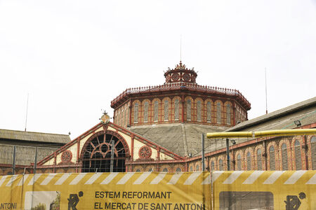 reforms Mercat de Sant Antoni, Barcelona