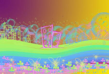 a children s fantasy landscape