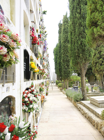 sitges: Cemetery of Sitges, Barcelona
