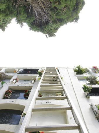 corpses: Cemetery of Sitges, Barcelona