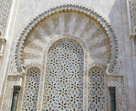 afrique du nord: Arches dans une construction typique du Maroc, l'Afrique du Nord
