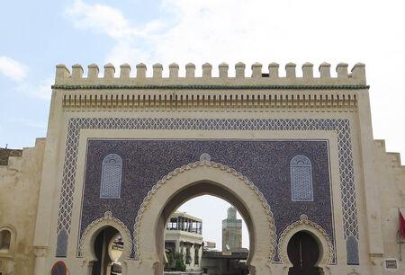 afrique du nord: Construction typiquement arabe, le Maroc, l'Afrique du Nord