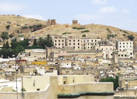 afrique du nord: Vue d'ensemble de F�s, au Maroc, en Afrique du Nord