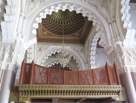 afrique du nord: Minaret Int�rieur au Maroc, en Afrique du Nord