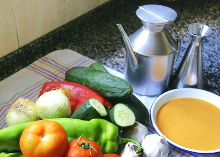gazpacho: Gazpacho ingredients