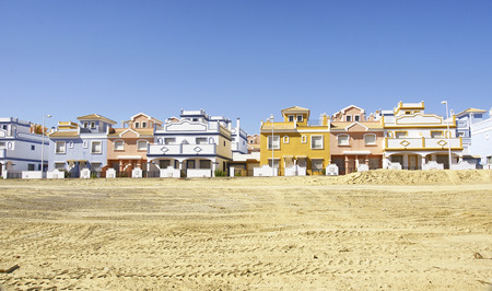 urbanization: Urbanization in Villaricos, Almeria, Spain Stock Photo