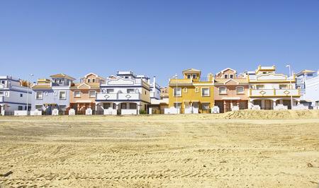 Urbanization in Villaricos, Almeria, Spain