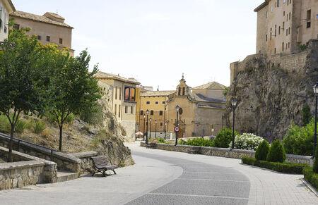 cuenca: Panoramic of Cuenca, Spain