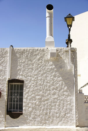 Andalusian architecture rural Enix, Almeria, Spain photo