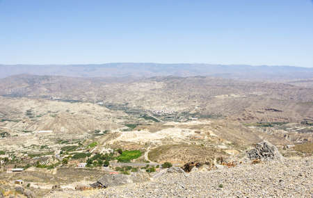 alpujarra: Overview of the Alpujarra de Almeria, Spain