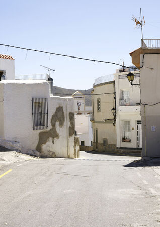Street of Enix, Almeria, Spain photo
