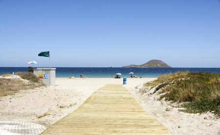 Beach in La Manga del Mar Menor, Murcia