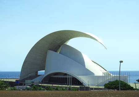 interpretations: Auditorium of Santa Cruz de Tenerife, Canary Islands, Spain