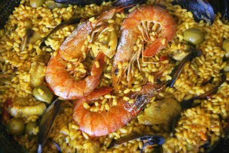 healthier: Paella rice, Spain