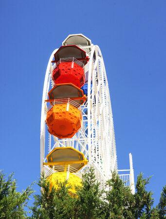 tibidabo: Ferris wheel at Tibidabo, Barcelona